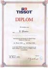 Dyplom Tissot Łukasz Płonka