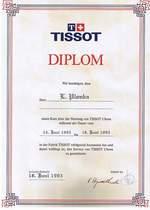 TISSOT DYPLOM