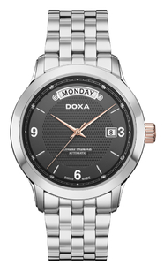 Zegarek DOXA Executive 5 Automatic D167RBK Diamonds