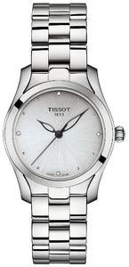 Zegarek Tissot T-Wave Diamonds T112.210.11.036.00 (T1122101103600)
