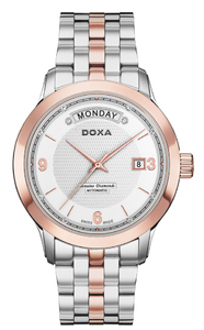 Zegarek DOXA Executive 5 Automatic D167RWH Diamonds