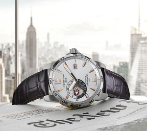 Zegarek Certina DS Podium GMT COSC Chronometer C034.455.16.037.01 (C0344551603701)