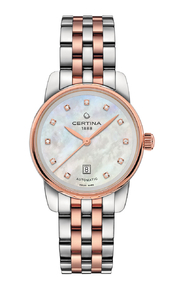 Zegarek Certina DS Podium Lady Automatic DIAMONDS C001.007.22.116.00 (C0010072211600)