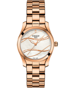 Zegarek Tissot T-Wave Diamonds T112.210.33.111.00 (T1122103311100)
