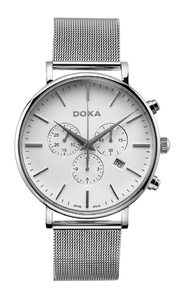 Zegarek Doxa D-light Chronograph 172.10.011.10 (1721001110)