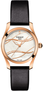 Zegarek Tissot T-Wave DIAMONDS T112.210.36.111.00 (T1122103611100)