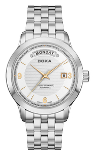 Zegarek DOXA Executive 5 Automatic D167SWH Diamonds