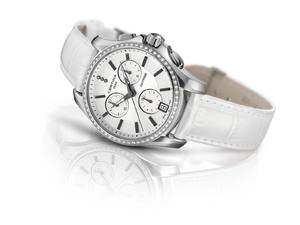 Zegarek Certina DS Prime Round Chrono Diamonds C004.217.66.036.00 (C0042176603600)