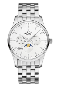 Zegarek Atlantic 56555.41.21 SEAPORT MOON PHASE 565554121