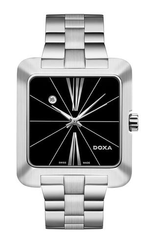 06589c8ec403b9 Doxa 3601010210 - Zegarek Doxa Grafic Gent Square 360.10.102.10 ...